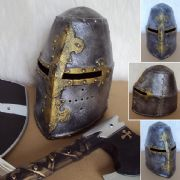 Childrens Medieval Knights Play Helmet